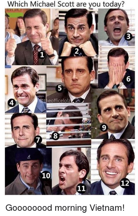 Which Michael Scott Are You Today? 2 1 6 Eofficelolz 4 7 ...