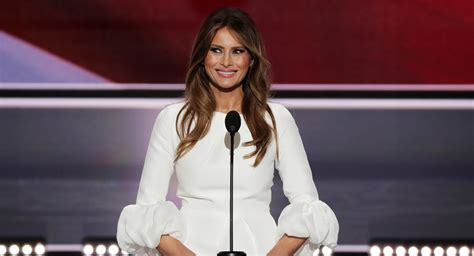 White House tries to dodge Melania Trump speech ...