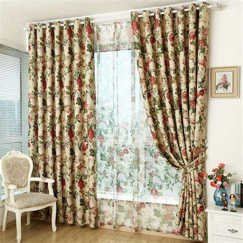 Window Curtain For Kitchen/ Living Room Blackout Curtain ...