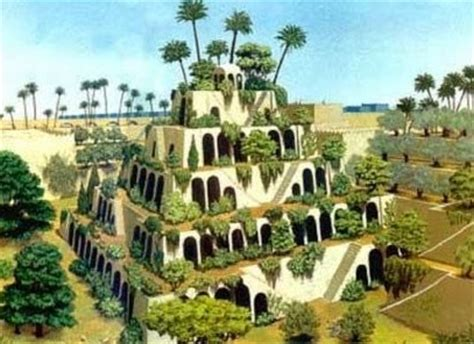 Women and the Garden: Hanging Gardens of Babylon