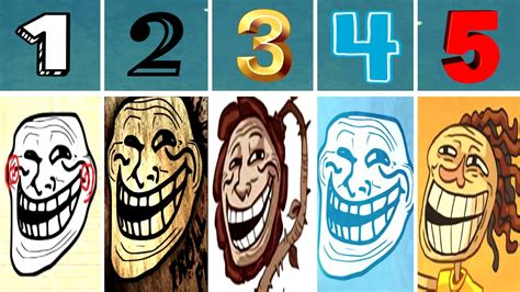 World of Trollface Quest 1, 2, 3, 4, 5 [Walkthrough 2016 ...