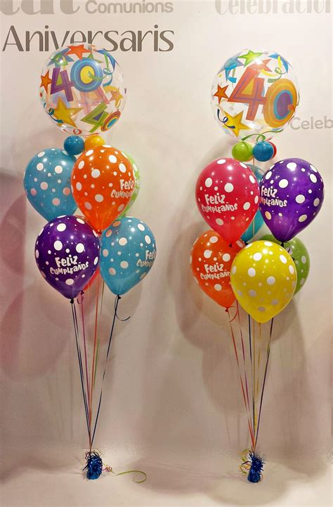 www.globofiesta.com Preparando un 40 #cumpleaños con los ...