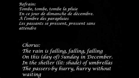 zaz la pluie lyrics  English and French    YouTube