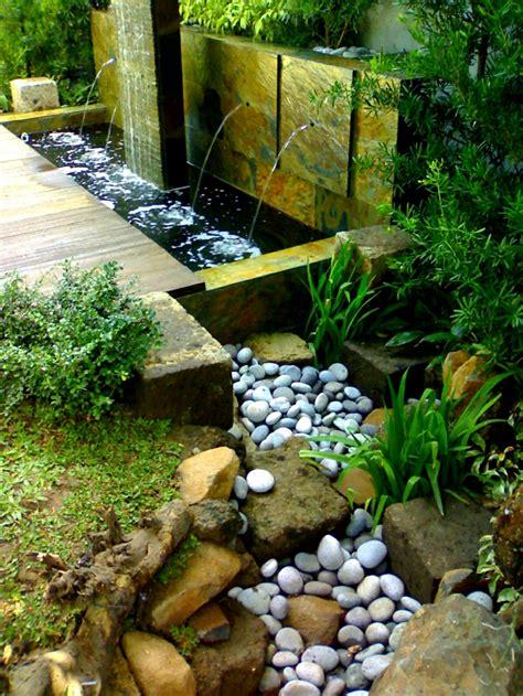 Zen jardines, elementos para decorarlos