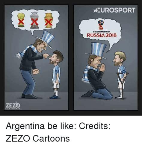 ZEZ ARTOON 1 EUROSPORT FIFA WORLD CUP RUSSIA 2018 ...