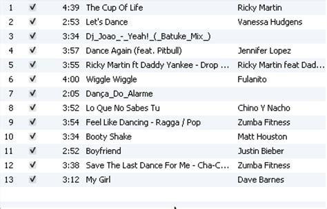 Zumba Music Playlist: Zumba 101   Razorback Britt
